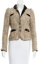Marc Jacobs Metallic Wool Blazer
