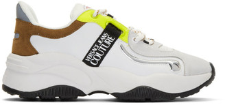 Versace White Monster Sole Sneakers