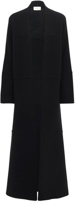The Row Knit Cashmere & Wool Long Coat