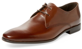 a. testoni Old Cordoba Calf Plain Toe Derby Shoe