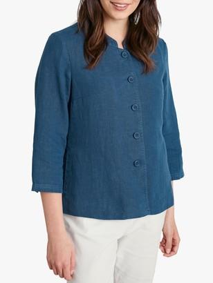 Seasalt Casting Call 3/4 Sleeve Linen Jacket