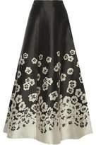 Alice + Olivia Suri Jacquard Maxi Skirt