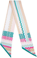 Missoni striped scarf - women - Silk - One Size