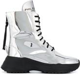 Philosophy di Lorenzo Serafini metallic ankle boots