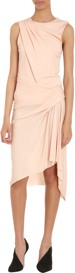 Alexander Wang Twisted Drape Sleeveless Dress