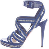 Christian Louboutin Rodita Zip-Accented Sandals