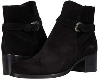 La Canadienne Providence (Black Suede) Women's Boots