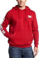 Caterpillar Big and Tall Men's Trademark Banner Hooded Sweatshirt