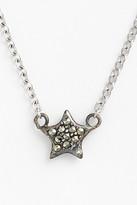 Judith Jack Mini Motives Reversible Pave Star Pendant Necklace