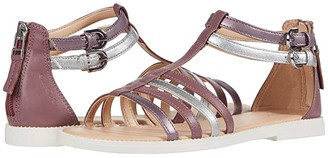 Geox Kids Sandal Karly Girl 29 (Big Kid) (Dark Pink) Girl's Shoes