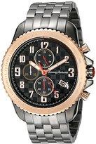 Tommy Bahama Men's 10018305 Kona Grand Prix Chronograph Analog Display Japanese Quartz Black Watch