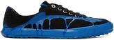 Comme des Garcons Black & Blue Painted Novesta Sneakers