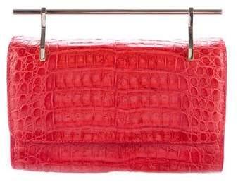M2Malletier Crocodile Mini Fabbrica Bag