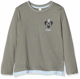 Esprit Boy's Rq1017401 T-Shirt Ls Dog