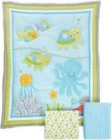 NoJo Little Bedding by Ocean Dreams 3 Piece Crib Bedding Set