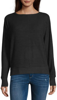 A.N.A Womens Crew Neck Long Sleeve T-Shirt