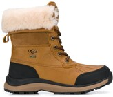 Thumbnail for your product : UGG Shearling Lined Lace-Up Boots