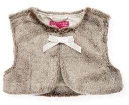 Janie and Jack Faux Fur Vest