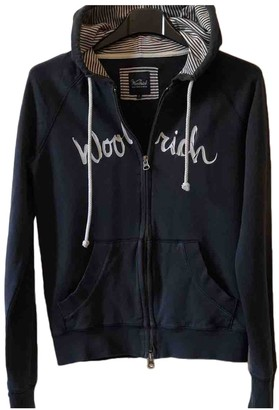 Woolrich Blue Cotton Knitwear for Women
