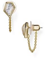 Alexis Bittar Miss Havisham Chain Stud Earrings