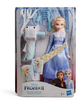 Disney Elsa Doll and Hairstyling Wand