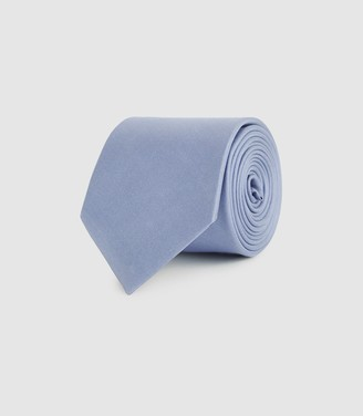 Reiss AIDEN SILK TIE Airforce Blue