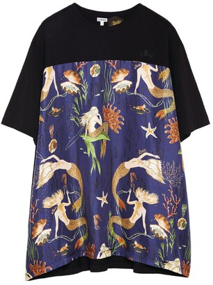 Loewe X Paula'S Ibiza Mermaid Print T-Shirt