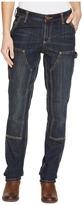 Carhartt Slim Fit Double-Front Denim Dungaree Jeans Women's Jeans