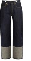Rag & Bone Trompe l'oeil-cuff high-rise boyfriend jeans