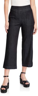 Nic+Zoe Plus Size Summer Day Denim Crop Pants