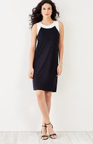 J. Jill Wearever Color Block Tank Dress