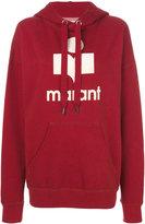 Etoile Isabel Marant logo hoodie - women - Cotton/Polyester - 38