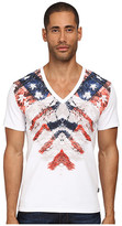 Just Cavalli Rebellion V-Neck Tee