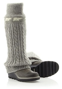Sorel Women's Crazy Cable WedgeTM Boot