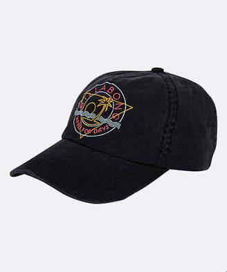 Billabong Baseball Caps BAQ_BLACK/AQUA - Black 'Wave for Days' Baseball Cap