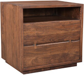 Moe's Home Collection Madagascar 2 Drawer Nightstand
