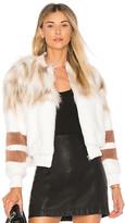 NBD x REVOLVE The Bella Faux Fur Bomber