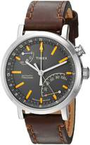 Timex Men's TW2P92300ZA Metropolitan Elevated Classic Technology Silver Dial Wrist Watch