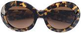 Oliver Goldsmith round sunglasses - women - Acetate - One Size
