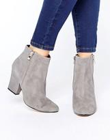 Dune Orla Side Zip Kitten heel Boots