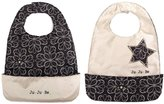 Ju-Ju-Be Be Neat Reversible Bib, Licorice Twirl