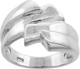 Sabrina Silver Sterling Silver Freeform Ring Flawless finish 1/2 inch wide, sizes 6 to 10