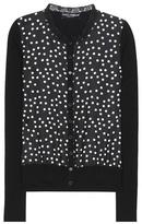 Dolce & Gabbana Polka-dot silk cardigan