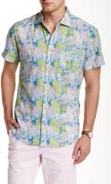 Ganesh Short Sleeve Printed Slim Fit Shirt