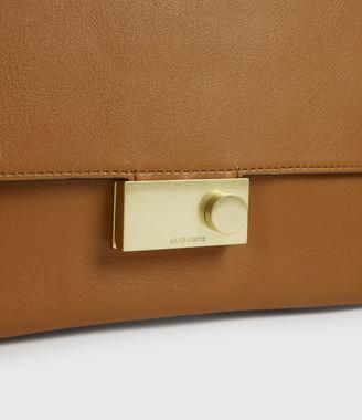 AllSaints Charterhouse Leather Shoulder Bag