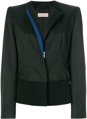 Giorgio Armani Pre-Owned Collarless Jacket