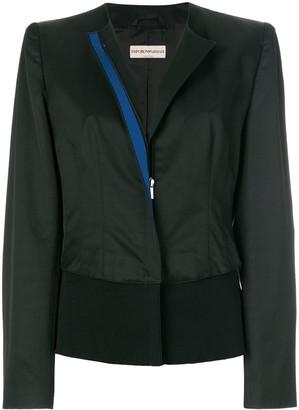 Giorgio Armani Pre-Owned collarless jacket