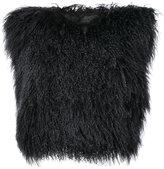Ann Demeulemeester fur pullover jacket