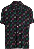 Wesc Nevin's Wasted Youth Short Sleeve Sport Shirt