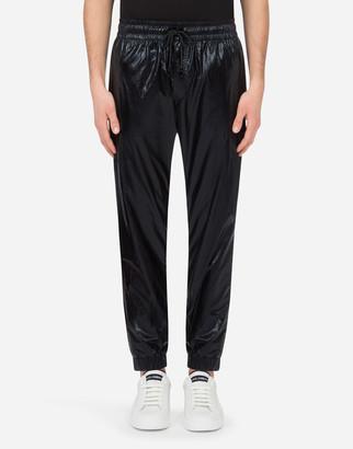 Dolce & Gabbana Laminated Jogging Pants